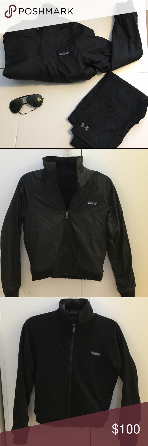 Reversible patagonia fleece jacket patagonia fleece jacket