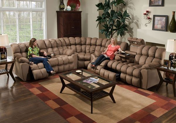 John V. Schultz Furniture U0026 Mattress   Shop Franklin   3 PIECE RECLINING  SECTIONAL