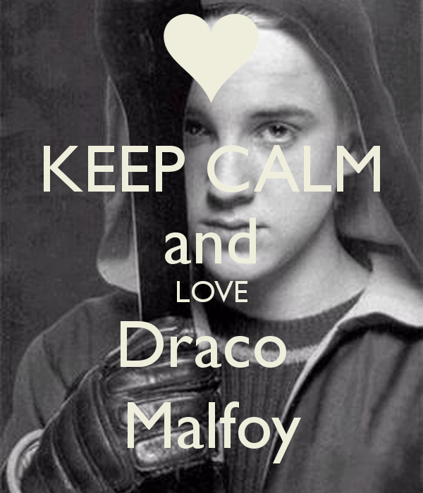 KEEP CALM and LOVE Draco Malfoy - KEEP CALM AND CARRY ON Image ...