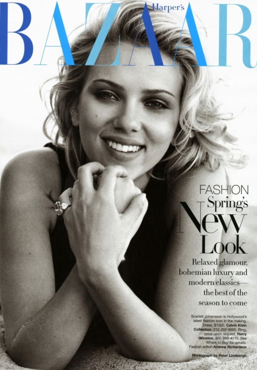 I buy a magazine if Scarlett is on the cover. I wish I had