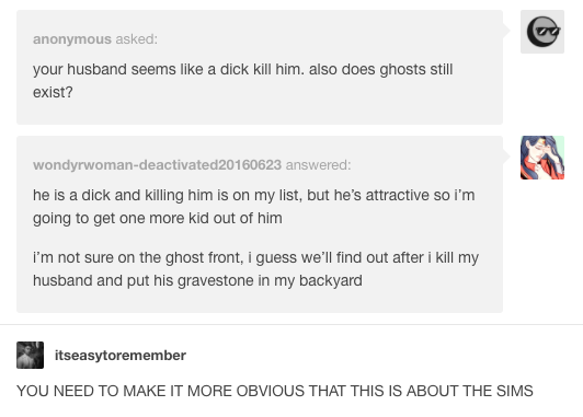 27 Times Anonymous Questions On Tumblr Were Genuinely Hilarious