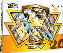 Pikachu EX 20th set. ONLY FOR 2016.