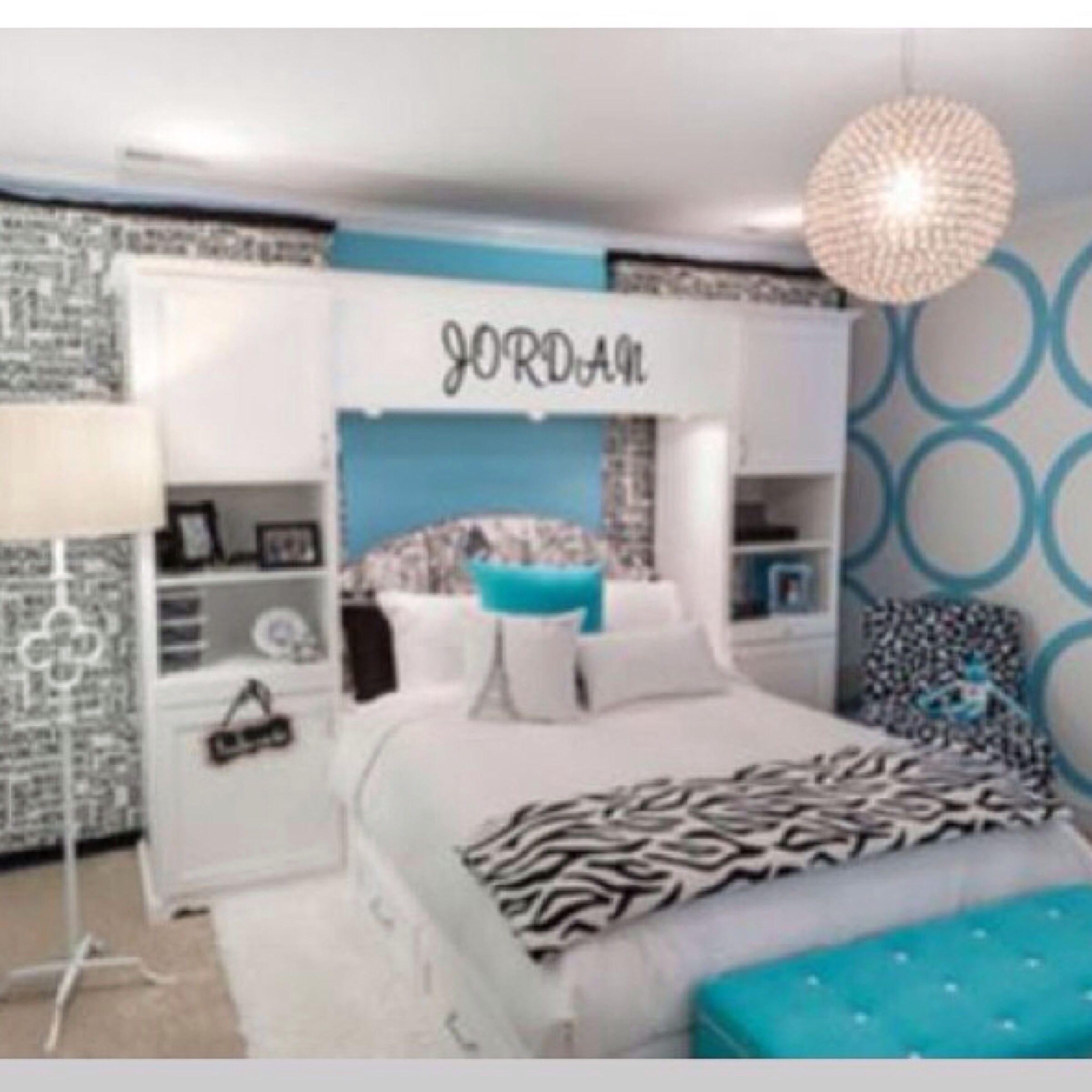 Big Cute And Blue Girl Bedroom Designs Girls Room Design