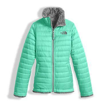 b1c57c2279ab The North Face Girls  Reversible Mossbud Swirl Fleece Jacket  Kids