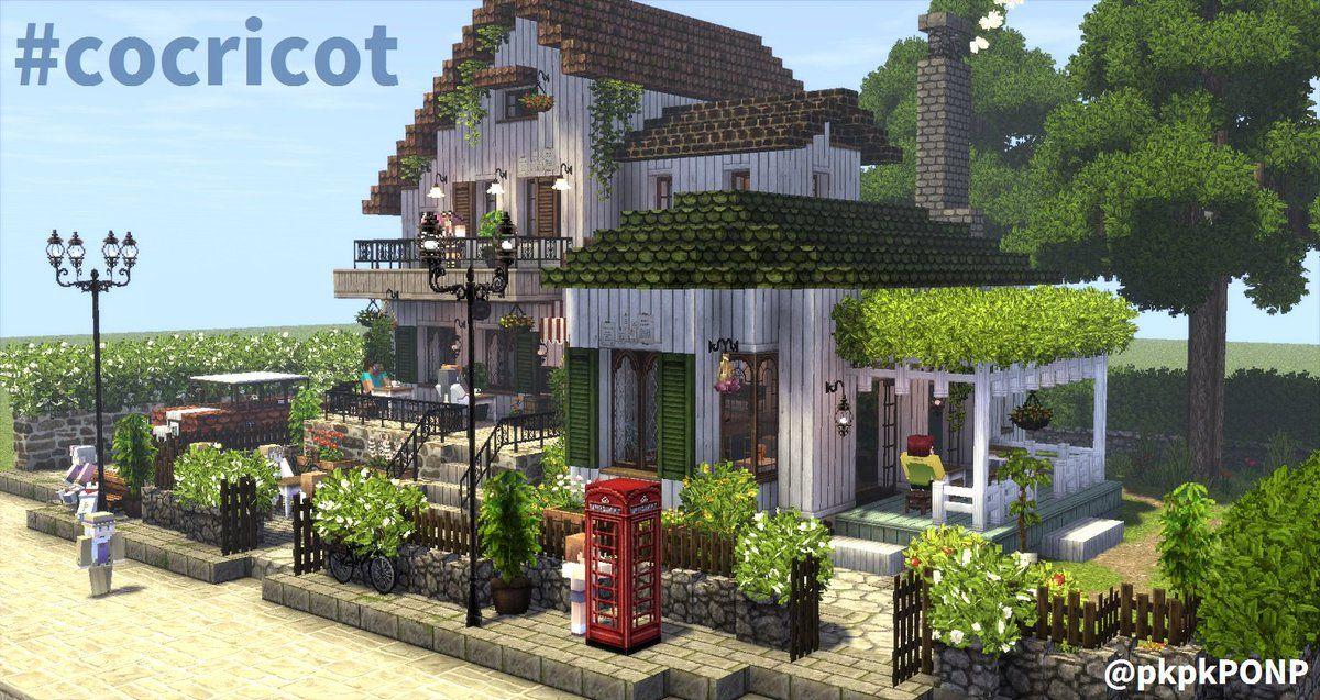 Innebygd マインクラフトの家 建築モデル マインクラフト 建築