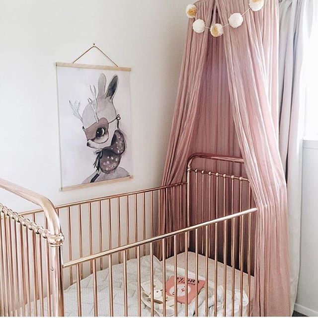 Did Someone Say Rose Gold Crib We Are There Loving The