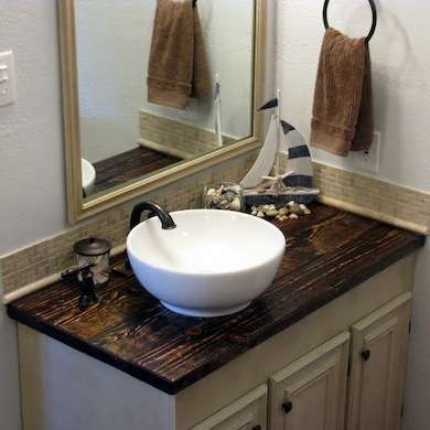 Make Your Own Vanity 12 Inventive Bathroom Rehabs