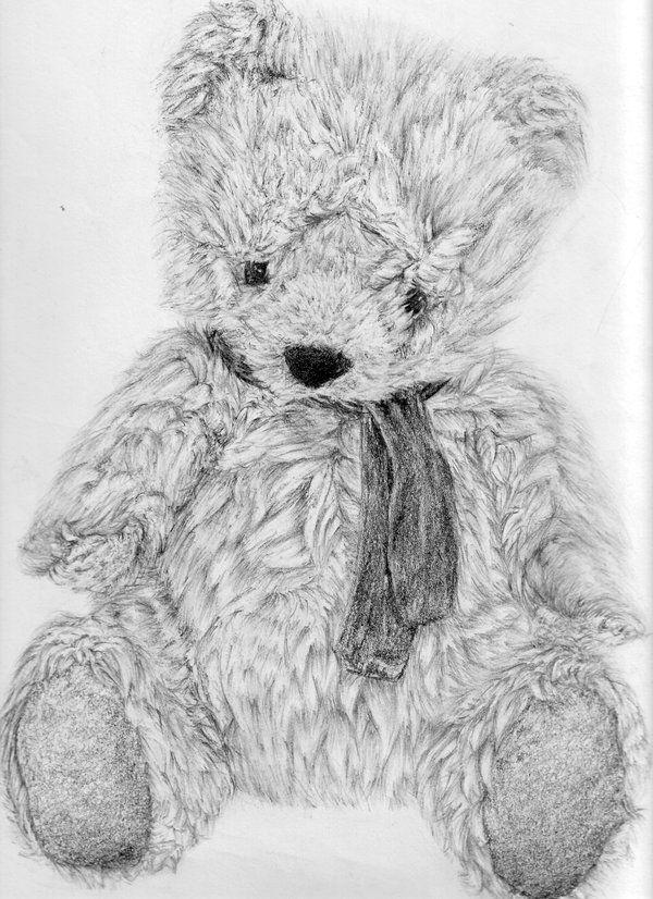 медвежонок рисунки карандашом удалить переписку