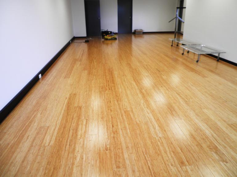 Bamboo flooring is a popular and highperformance
