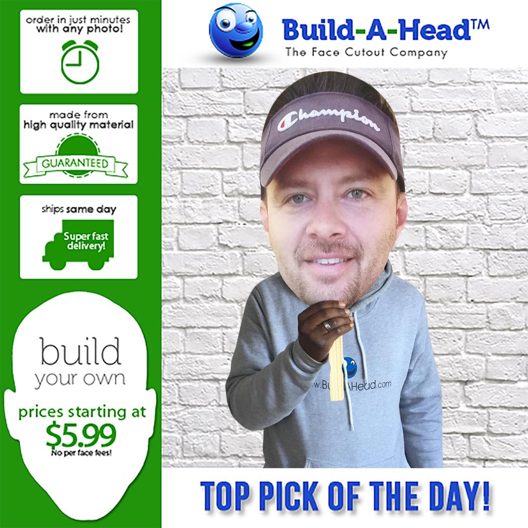 Big Head Face Cutout Fun With Build A Head Best Big Head
