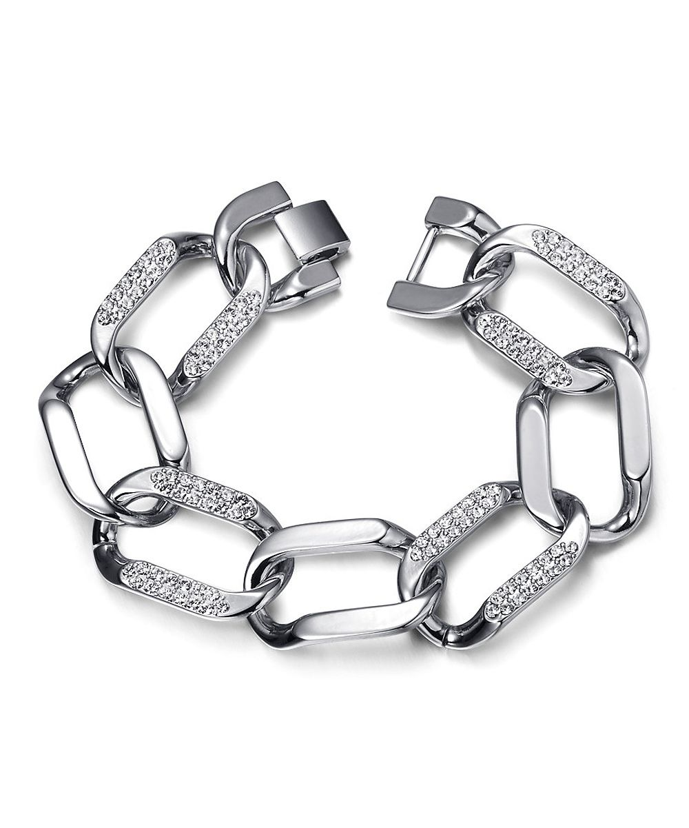 Lauxes crystal connection bracelet made with swarovski elements