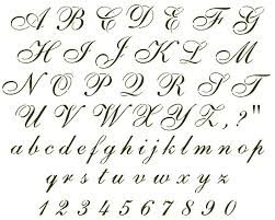 Image Result For Uppercase Cursive Letters A Z