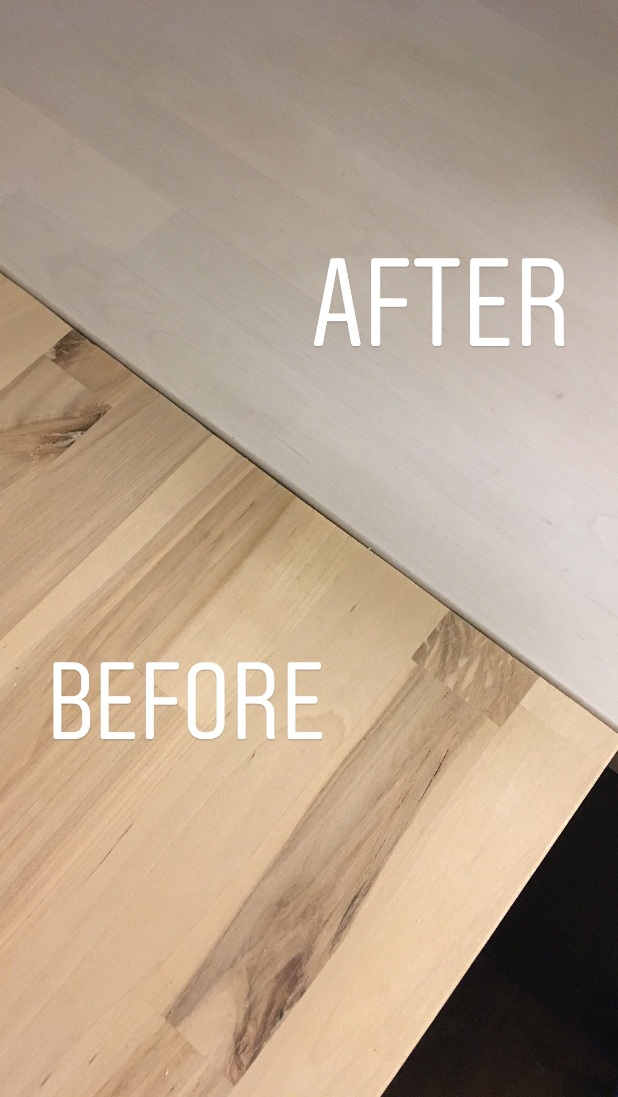 How To White Wash Butcher Block Butcher Block Countertops