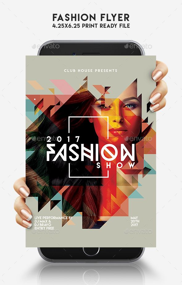 Fashion Flyer Flyer Template Event Flyer Templates And