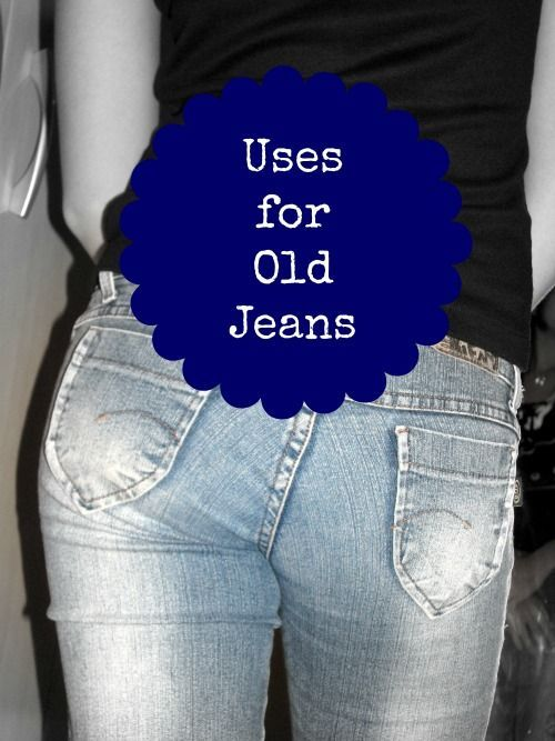 I have my old blue jeans on