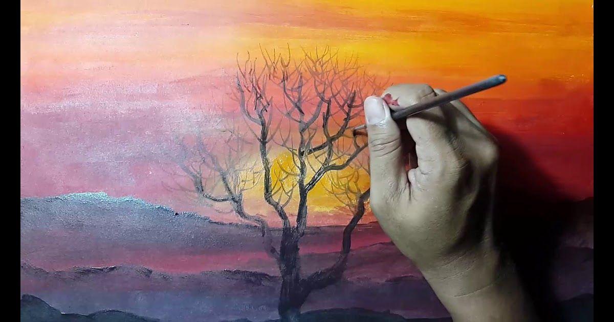 20 Contoh Pemandangan Sunset Cara Melukis Sunset Download Tutorial 6 Simple Steps Stunning Snaps Download 7 Tempat Lukisan Pemandangan Lukisan Abstrak