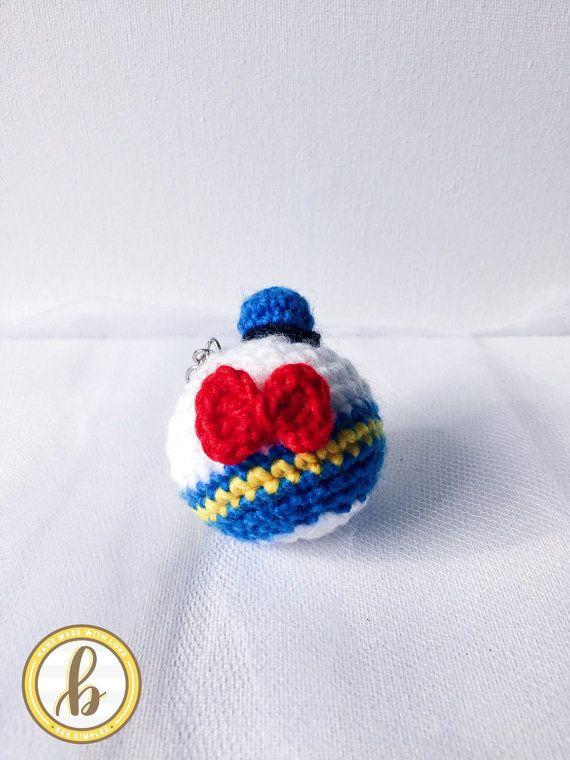 Disney : Donald Duck Keychain | Handmade cute Amigurumi Crochet ...
