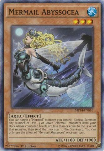 Yu-Gi-Oh! - Mermail Abyssocea (MP14-EN016) - Mega Pack 2014 - 1st Edition - Common *** Once in a lifetime offer : FREE Toys and Games