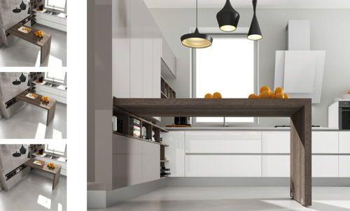 Modelos de cocinas con barras Las barras de cocina son una de las - barras de cocina