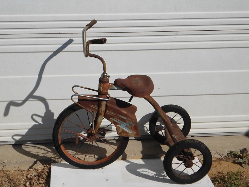 Rusty Old Tricycle Rusty Metal Amp Stuff Pinterest