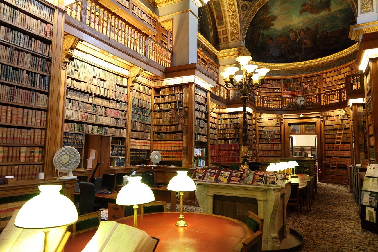 Bibliothèque de l'assemblée nationale, Paris , Jules de Joly, 1847 | Assemblée nationale ...