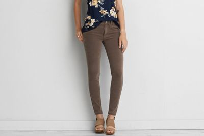 AEO Sateen X4 Jegging by  American Eagle Outfitters    Shop the AEO Sateen X4 Jegging and check out more at AE.com.