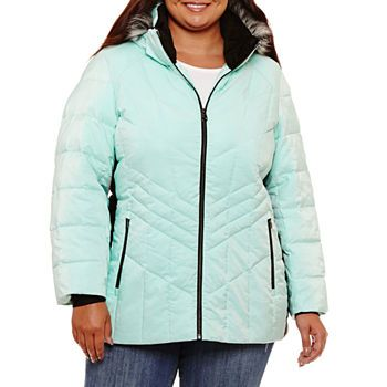 01a705fcde877 Plus Size Puffer Jackets Coats   Jackets for Women - JCPenney ...