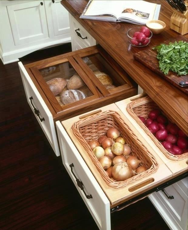 Kitchen Bread Drawer: Great Kitchen Drawer System
