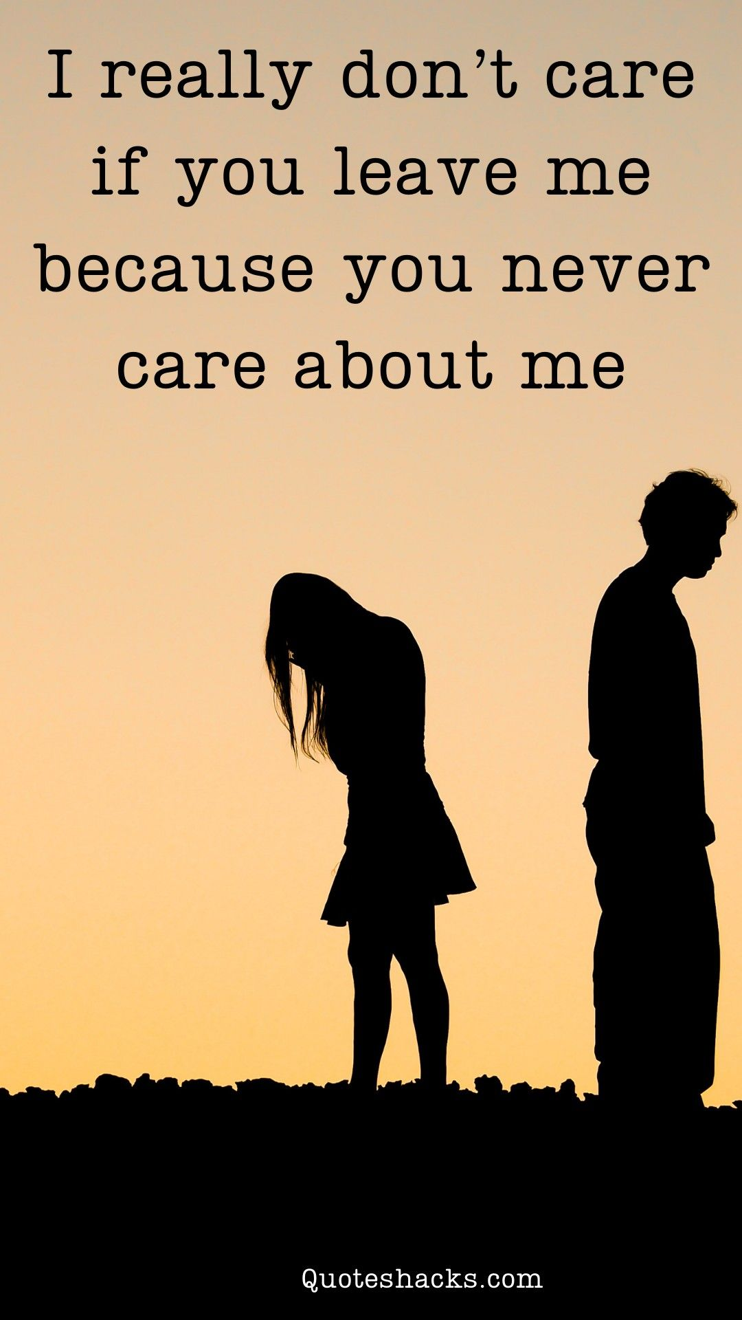 how to stop caring about someone who doesn't care about me