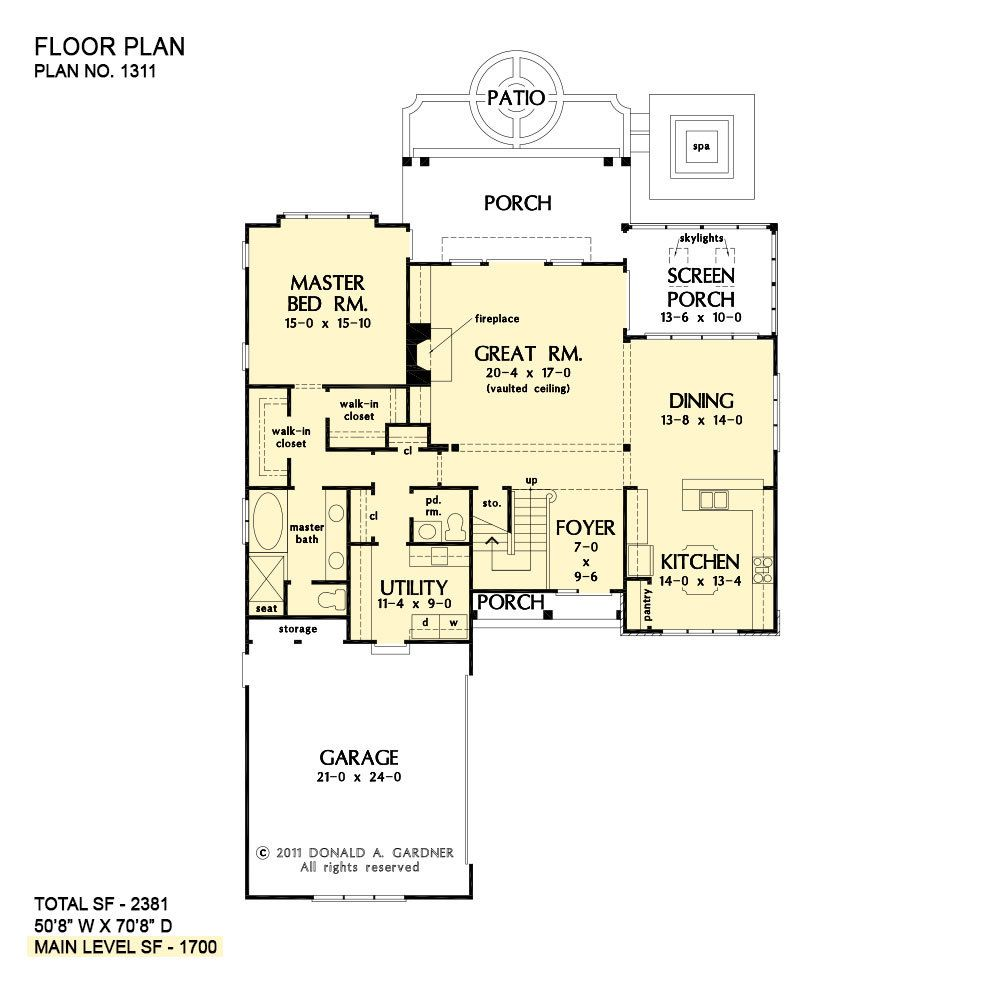 Two Story House Plans Narrow Lot Home Plans Don