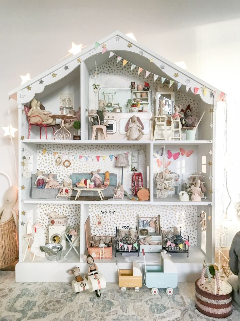 Modern Miniature Dollhouse With Images Tiny House Design Doll