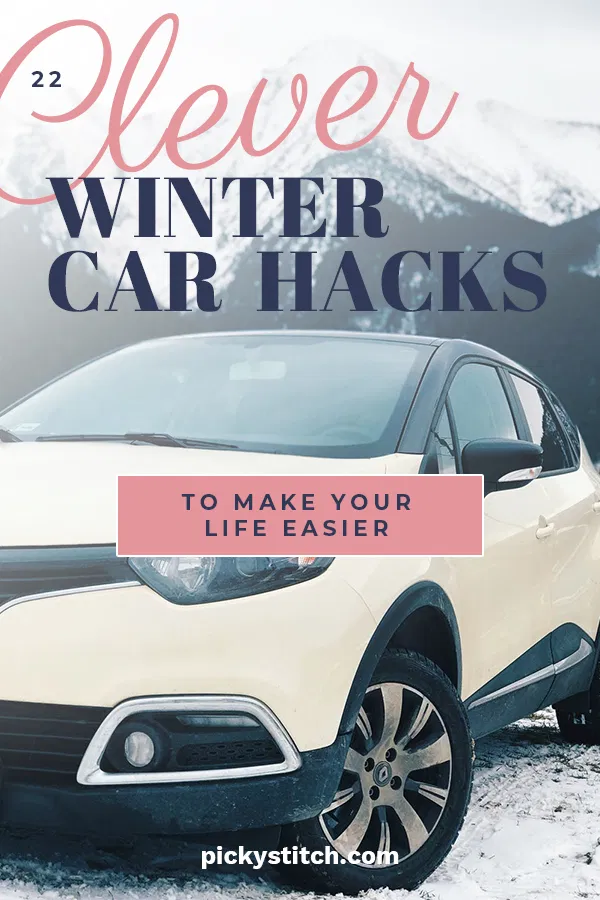 22 Clever Winter Car Hacks To Make Your Life Easier Car Hacks Winter Car Car