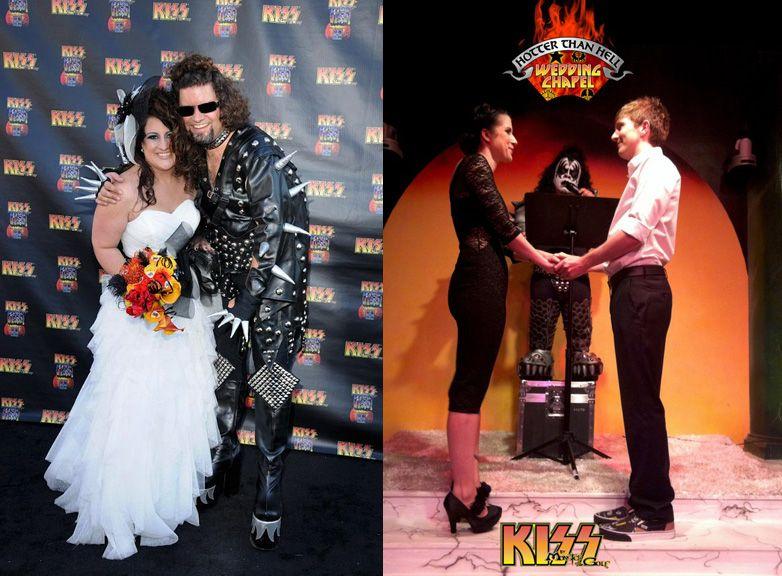 kiss wedding chappel weddings