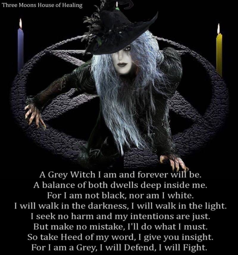 Grey Witch>>> I Call It Being A Silver Witch Since Light