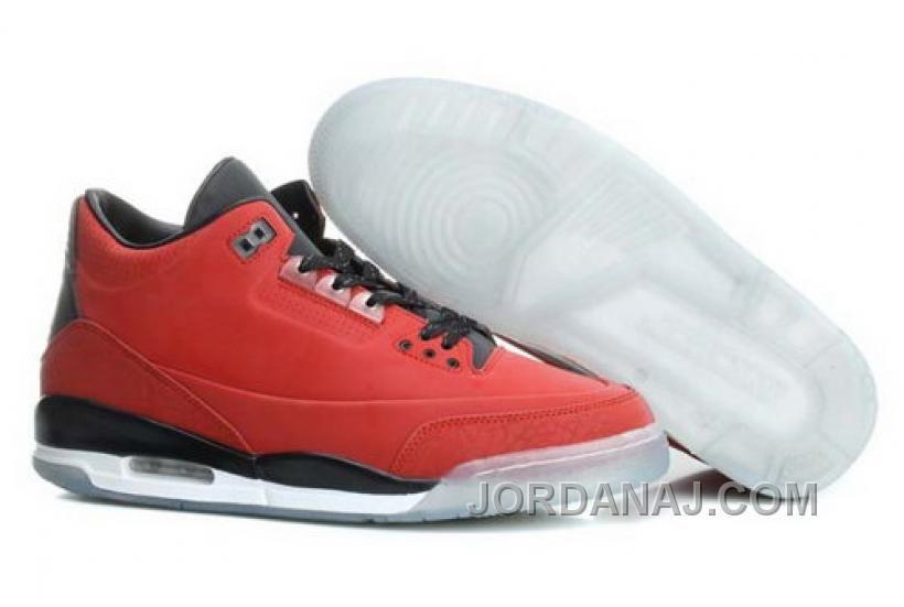 Nike Air Jordan Mens Shoes 3 Jordan 5lab3 Retro Chinese Red New