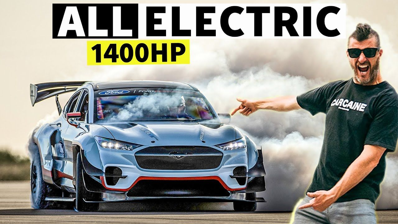 Ken Block Finally Hoons The New Ford Mustang Mach E Youtube In