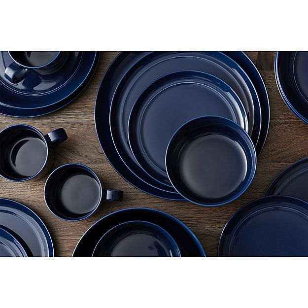 Create a look thatu0027s all your own with dinner plates from Crate and Barrel. Browse  sc 1 st  Pinterest & Create a look thatu0027s all your own with dinner plates from Crate and ...