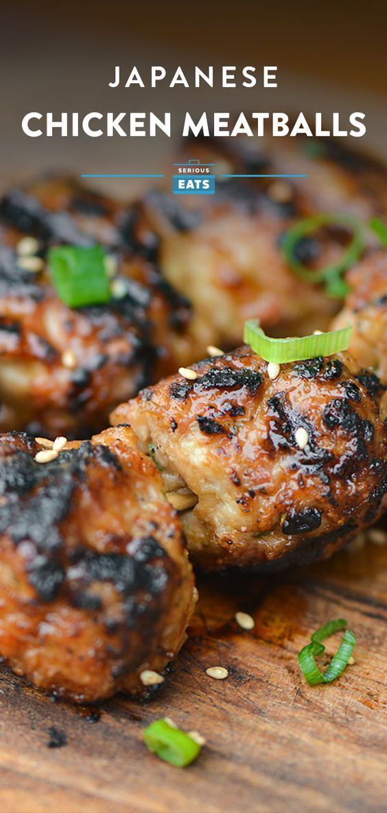 Photo of Tsukune (Japanese Chicken Meatballs) – #asian #Chicken #Japanese #Meatballs #Tsu…