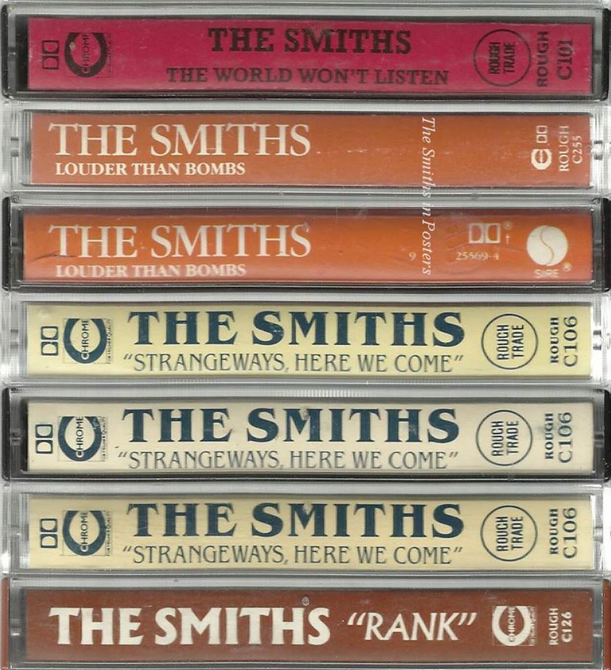 the smiths cassettes