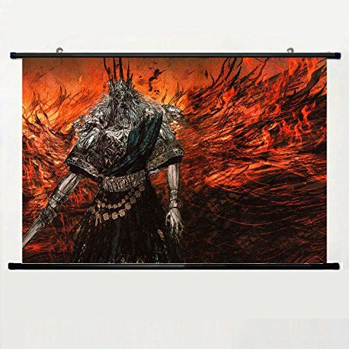 Popular And Unqiue Designed Home Decor Art Game Poster With Dark Souls(43) Wall Scroll Poster Fabric Painting 24 X 16 Inch (60cm X 40 cm) -- Tried it! Love it! Click the image. : home diy kitchen