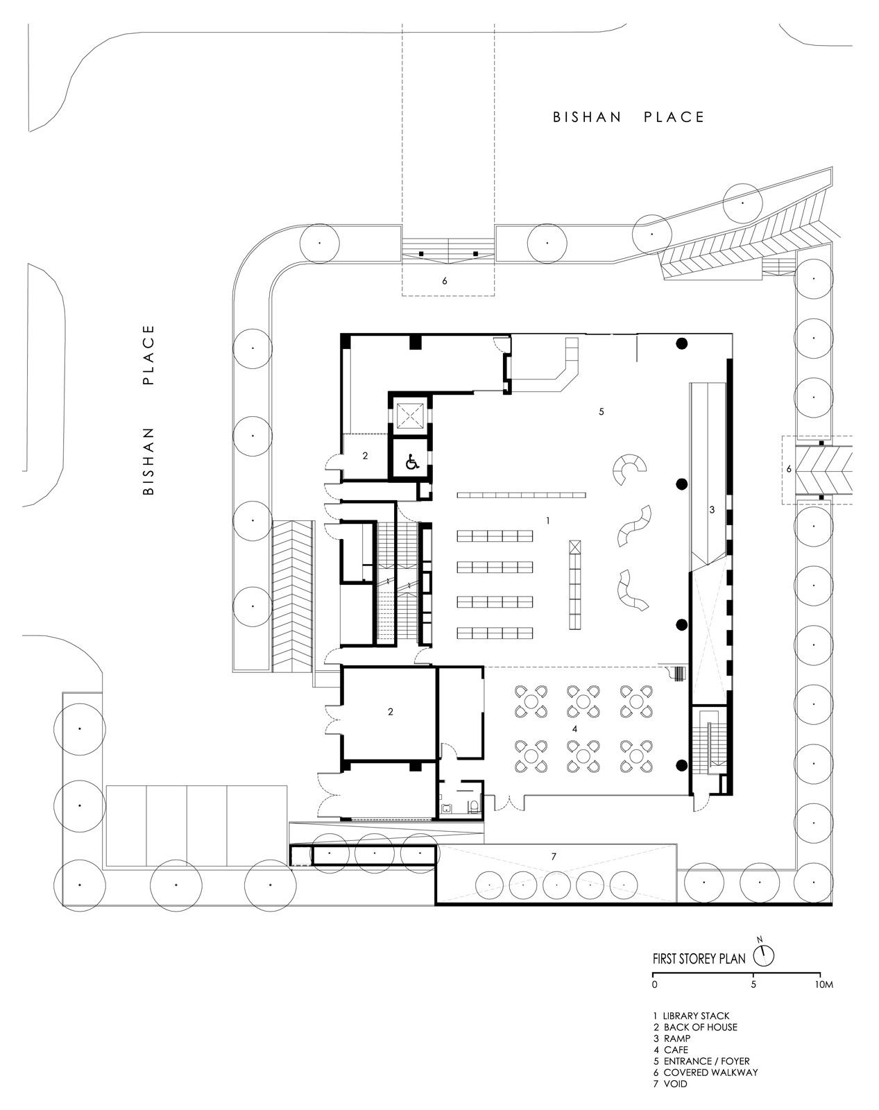 Image 15 Of 17 From Gallery Bishan Public Library LOOK Architects First Floor Plan