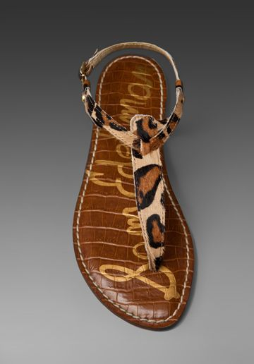 a23ae4cc2ab4 Sam Edelman Gigi sandal in leopard. Leopard print sandals are on my wish  list right now.