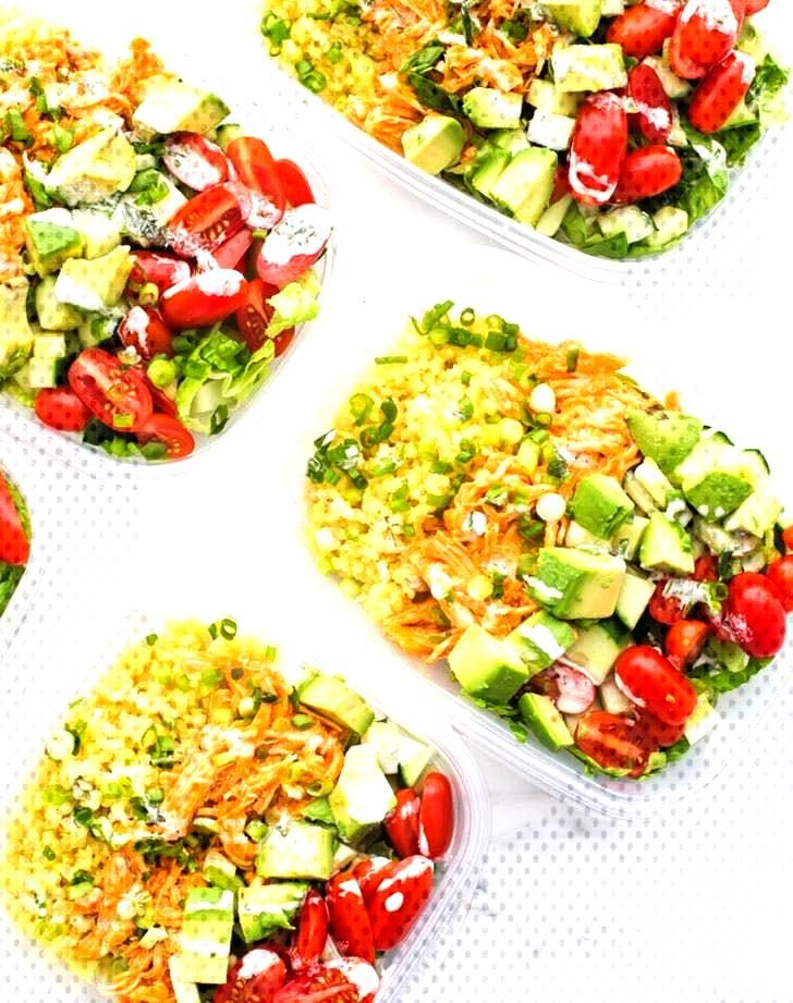 19 Easy Meal Prep Lunches Under 400 Calories -