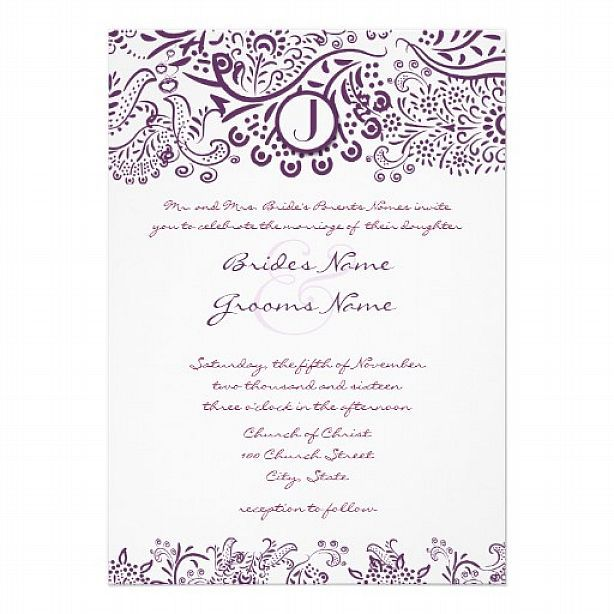 Samples Of Wedding Invites: Sample-Wedding-Invitation-Template