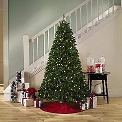 Trim A Home Reg 6 Boulder Mountain Pine Christmas Tree With 300 Clear Lights Christmas Tree Pine Christmas Tree Tree