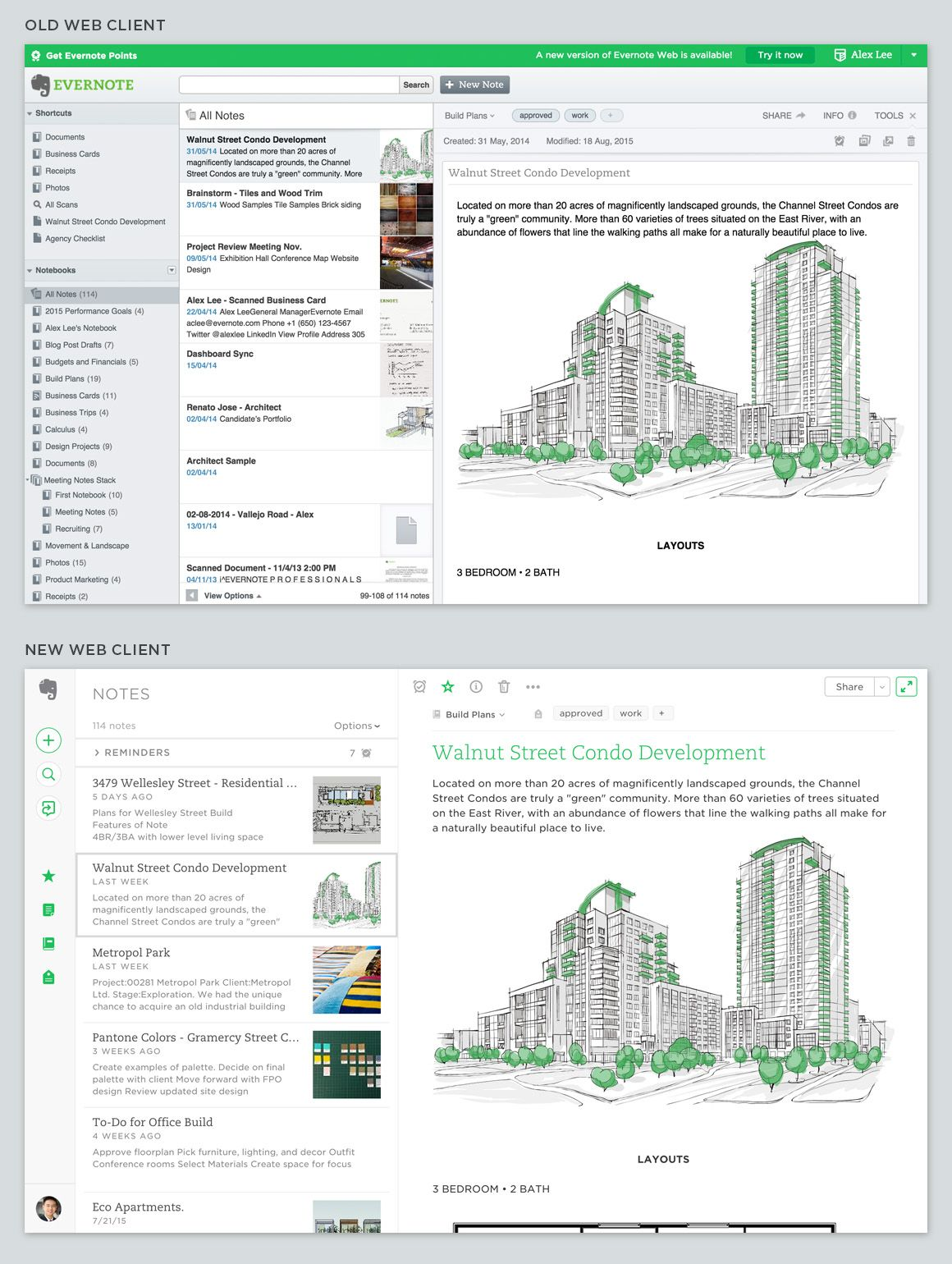 The New Evernote Web: an Interview with the Team | dropbox