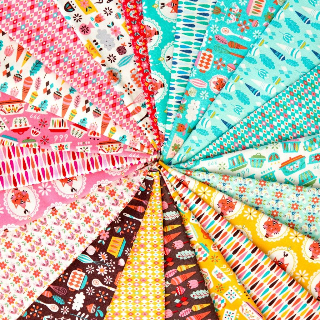 Vintage Kitchen Fabric Collection Designed By Andrea Muller For Riley Blake Designs Iloverileyblake
