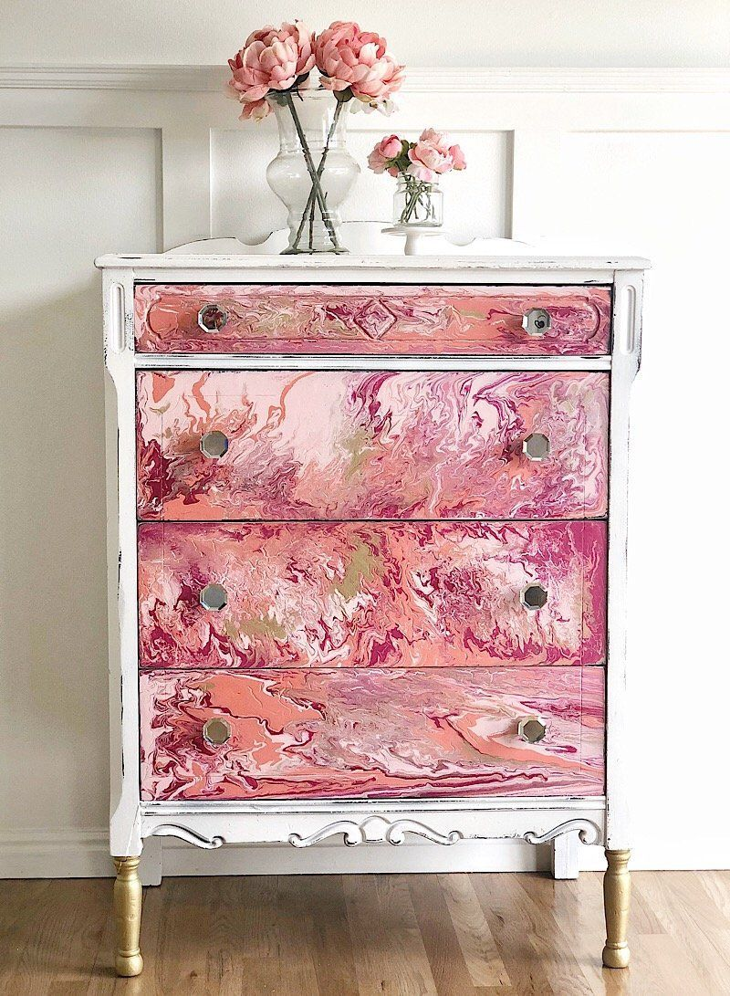 How To Paint Pour On Furniture Youtube Video Jami Ray Vintage Diyfurniture Furniture Wood Bedroom Sets Farmhouse Furniture,What Colours Go With Olive Green Walls