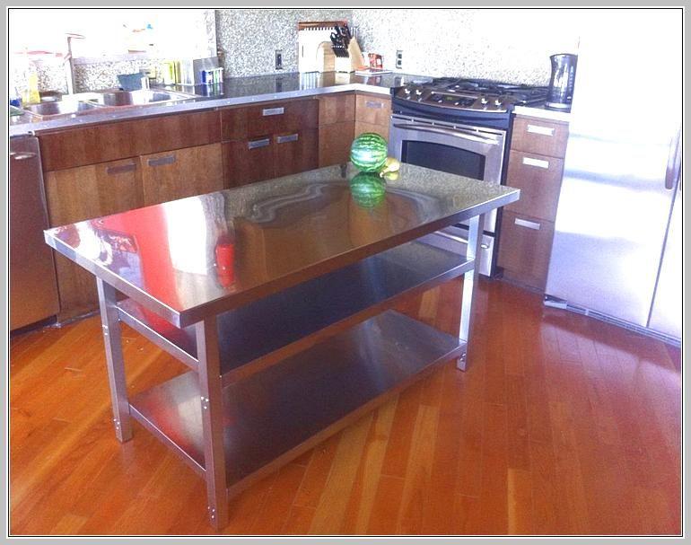 kitchen island stainless steel top  kitchen island legs