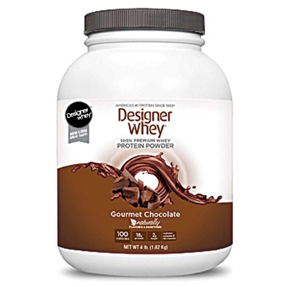 Designer Protein Protein Powder Gourmet Chocolate 4 Lbs